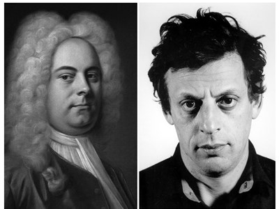George Frideric Handel and Philip Glass